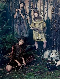 Vogue Japan October 2014   Bruna Rosa Dasha Gold + More   Emma Summerton