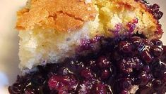 Recipe: Blueberry pudding from Lac-St-Jean. Baking Recipes, Cake Recipes, Dessert Recipes, No Bake Desserts, Easy Desserts, Ricardo Recipe, Bean Salad Recipes, Blueberry Recipes, Blueberry Pudding Cake