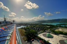 Voyager of the Seas in Jamaica.