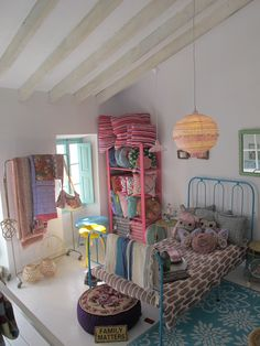 First floor of the shop mimar in santanyi, mallorca. www.mimarbalear.com