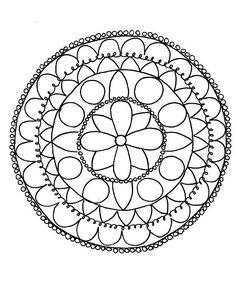 Craftsy Coloring Pages: Mandalas