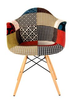Control Brand Patchwork Mid-Century Eiffel Dining Arm Chair