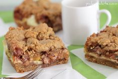 """Peanut Butter Cookie and Cream Cheese """"Candy"""" Bars - Picky Palate"""