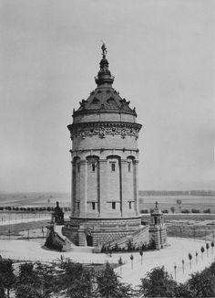 1889, Bildquelle: Stadtarchiv Mannheim Institut für Stadtgeschichte www.stadtarchiv.mannheim.de