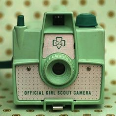 girl scout camera #vintagecamera #GirlScouts