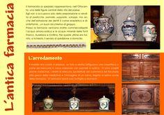 Il pannello descrive un'antica farmacia riprodotta in occasione della Chiamata di Marzo 2010 (Recoaro Terme - VI)