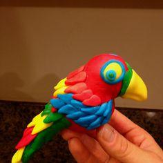 Fondant parrot. :-)