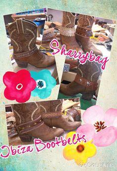 Leather Bootbelts by Sharrybag