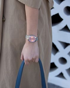 Violet Hamden (@violethamden) • #contemporary #watches #watchbrand #style #classic #trenchcoat Watch Brands, Contemporary, Watches, Spring, Classic, Accessories, Style, Fashion, Wrist Watches