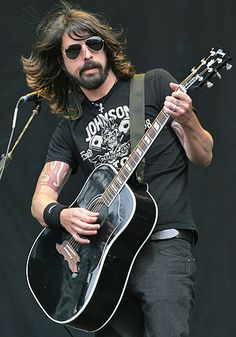 Dave Grohl ... I don't care that he's married ... I have the biggest crush on him!!!!!