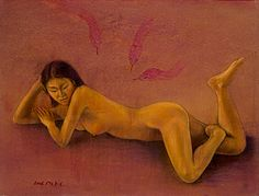 EVE. 2004. Papper on pastel