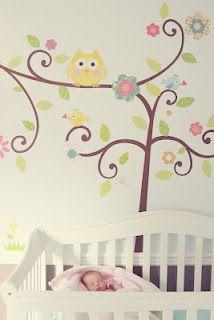 Sweet Shabby Chic whimsical nursery
