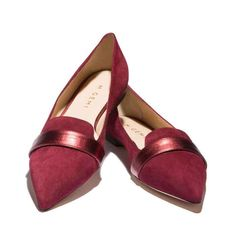 Women's Flats From Italy | M.Gemi- super fun site, order monthly as treat. Goal Nov 1st. to set up.