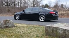 8 3 2009 camry toyota 4dr sedan 24l 4cyl 5a dropped 3 klutch sl5 custom aggressive 1 outside fender