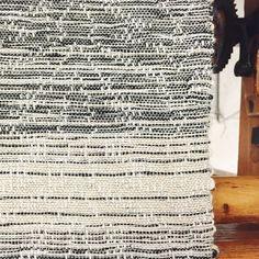 spotted: black n' white ombré matelasse on the compu Dobby xoxo  #textiles #weaving #handwoven #handmade #loom #compudobby #weaver