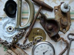 Salvaged Antique and Vintage Hardware