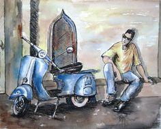 December 2013 Winners   Art Tutor Vintage Scooter: Best In Class, Pen-j