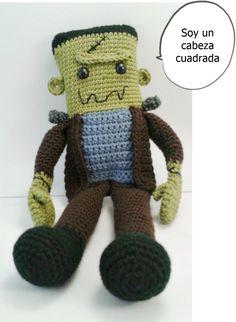 Bocadillo Frankie Newborn Crochet Patterns, Easy Crochet Patterns, Crochet Patterns Amigurumi, Amigurumi Doll, Crochet Ideas, Crochet For Kids, Crochet Baby, Nursing Home Gifts, Crazy Toys