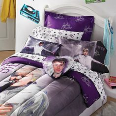 Justin Bieber Concert Sheet Set Room I