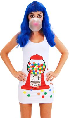 Gumball Popstar Tank Dress as seen on Katy Perry $24.95