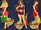 Hard Rock Cafe PHILADELPHIA 2006 CITY SUMMER Shopping Sexy GIRL Series 3 PIN SET - 2006, Cafe, City, GIRL, Hard, Philadelphia, Rock, SERIES, SEXY, Shopping, SUMMER