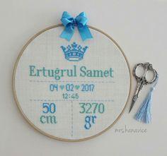 Doğum panosu Wedding Cross Stitch Patterns, Cross Stitch Designs, Embroidery Stitches, Diy And Crafts, Coin Purse, Crafty, Gifts, Cross Stitch, Patterns