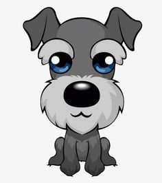 Adorable Schnauzer, Schnauzer, Animal, Puppy PNG Image