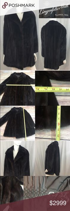 💗M/L Vintage Mink Stroller Coat Long Sleeve Fur A gorgeous vintage mink no closure coat. Comes with coat bag for storage. Worn a handful of times. It's beautiful and so soft. It was purchased in 1999, kept in a storage vault Mar-Nov.   I do not comment to my buyers after purchases, due to their privacy. If you would like any reassurance after your purchase that I did receive your order, please feel free to comment on the listing and I will promptly respond.   I ship everyday and I always…