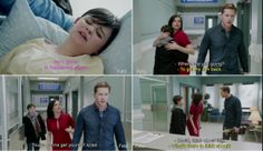 Daddy Charming to the rescue! - and Regina caring and being sweet and ah! I just love it!