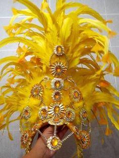 Estrela Custom Made Sparkler Headdress (Your Choice of Colors)
