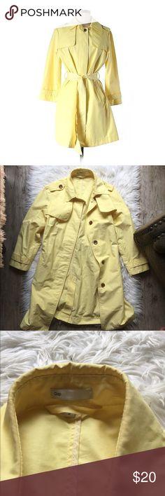 Gap Yellow Trench Coat Gap Yellow Trench Coat. Size: M. GAP Jackets & Coats Trench Coats