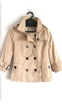 Sam Edelman Women's Gabriella Short Trench Coat, Sage, X-Large ...