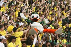 Student Section Autzen Stadium #GoDucks
