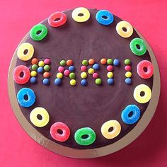 Tartas infantiles / tartas para niños / #lacasitos / tarta de gominolas / chuches