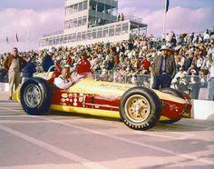 Don Branson 1959  Indy 500  Start: 10 Fin; 24 lap 112 torsion bar