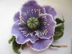 Картинки по запросу нунофелтинг Felt Brooch, Nuno Felting, Felt Flowers, Lana, Floral, Feltro, Terrariums, Felted Flowers, Flowers
