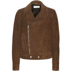 Suede Biker Jacket ✽ Saint Laurent ¦ mytheresa