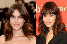 The 34 Hottest Medium Length Hairstyles: Two Versions of Alexa Chung's Shag Hairstyle