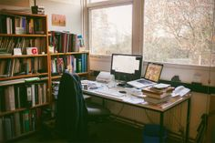 In the Department of Typography and Graphic Communication at the University of Reading, UK. Photo by Evgenia Basyrova.