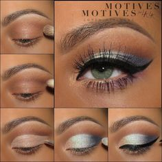 "Get this ""Cold Front"" cut crease look by @theamazingworldofj using all Motives! -Eye Base -Fantasy Palette -Pressed Eyeshadow in Midnight -Paint Pot in Mezmerize -Mavens Element Palette -Gel Eyeliner LBD -Lustrafy Mascara in Blackout All #motives products are available for US/CAN at http://ift.tt/19oQHy4 or internationally at Global.Shop.com #motd #motivescosmetics #makeup #beauty #glam #mua #eotd"