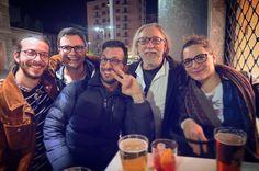 All with Glasses   #afterwork #colleagues #Marta #Leo @antonysax #rocknroll #friends #american #DadLeo #Tal_Samson #Blenderino #bar #night #lights #PiazzaXXVAprile #milan #city #beers #i_lovephoto #photo #photoadditc #finishwork #socialnetwork #pinterest #swarm #tumblr #twitter #instagram #likes #kiss