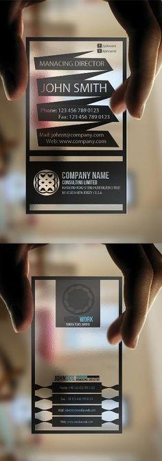 99 best business card design images on pinterest business card transparent business cards business card design cards reheart Images