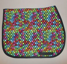 Neon Triangle Pattern Pad