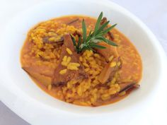 Comienzan las #setas Aprovecho para presentaros un #arroz #meloso con #roblones rico #rico http://wp.me/p3JVAz-2b