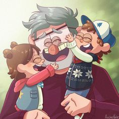 I don't know don't ask me about titles xD Hey hey remember how I always draw a lot of toddler twins with the Stans? Well here's another installmentI'm gonna give myself diabet. Libro Gravity Falls, Gravity Falls Journal, Gravity Falls Anime, Gravity Falls Secrets, Dipper E Mabel, Monster Falls, Fall Drawings, Gavity Falls, Desenhos Gravity Falls