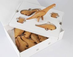 Walking with dinosaur biscuits .... how cool!