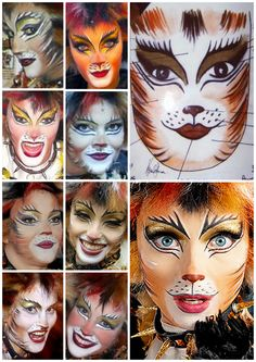 Demeter Makeup reference Cats The Musical Costume, Cats Musical, Cat Costumes, Fairy Costumes, Maquillage Halloween, Halloween Face Makeup, Scary Halloween, Halloween Ideas, Halloween Decorations