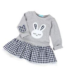 a4b54ad83 Spring Kids Baby Girls Outfits Swan Long Sleeve T-shirt Tops+Tutu Dress Sets