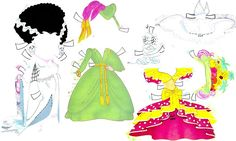 Miss Missy Paper Dolls: Betty Bobbs and Betty Boop