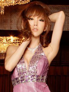 【楽天市場】山崎みどり 着用 ドレス 豪華スパンコール刺繍 グラデーション ロングドレス【ワンピ